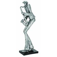 Décor Sax Musician Figurine