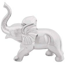 Ceramic Elephant Decor Figurine