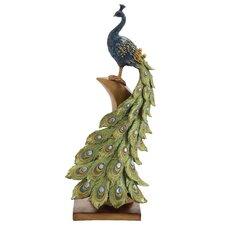 Irish Styled Peacock Décor Figurine