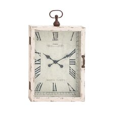 Beautiful Wood Metal Wall Clock