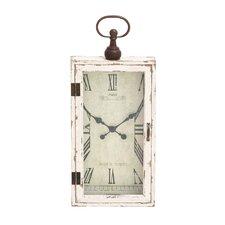 Awestruck Smart Wood Metal Wall Clock