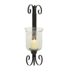 Exquisite Styled Metal Glass Sconce