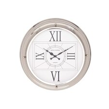 Modern Stainless Steel Wall Clock