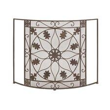 1 Panel Metal Fireplace Screen