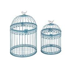 2 Piece Attractive & Lovely Bird Cage Set