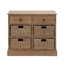 The Cool Wood 4 Basket Chest