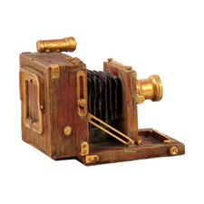 Antique Decorative Resin Camera Sculpture