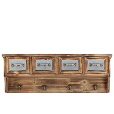 Majestic and Classic Style Wooden Handing Cabinet