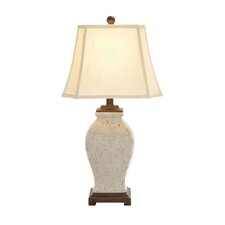 "The Ceramic Lovely 32"" H Table Lamp with Bell Shade"