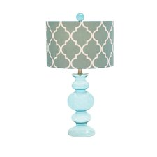 "Contemporary 26"" H Table Lamp with Drum Shade"