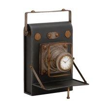 Unique & Antique Camera Themed Desk Clock
