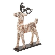 Home Decor Painted Deer