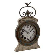 Rustic and Artistic Metal Wall Clock