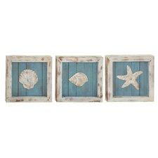 3 Piece Beautiful Wood Wall Décor Set