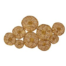 Circular Patterned Fancy Metal Wall Décor