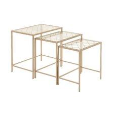 Classy 3 Piece Nesting Tables