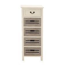 5 Drawer Tall Dresser