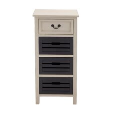 Unique 4 Drawer Tall Dresser