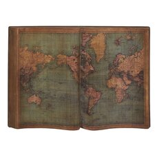 Cool and Unique Wood Wall World Map Wall Décor