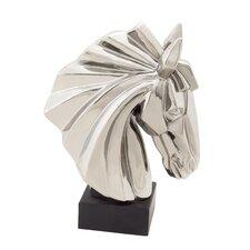 Exquisite Ceramic Horse Bust