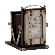Buckingham Fancy Metal Table Clock