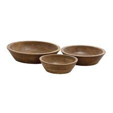 Versatile 3 Piece Serving Bowl Set