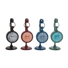 4 Piece Mind Blowing Table Clock Set