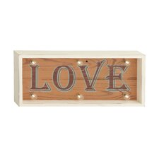 Beautiful LED Love Sign Wall Decor