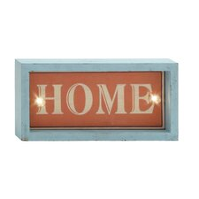 Simply Attractive LED Home Sign Wall Decor