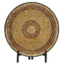 Beautiful Mosaic Platter with Stand