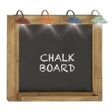 Chalkboard Light Wall Decor