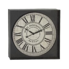 Square Look Wall Clock