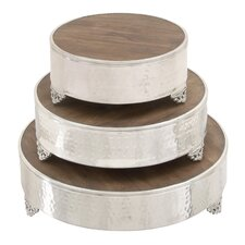 3 Piece Grand Cake Stand Set