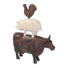 Traditional American Farm Art Figurine