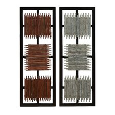 Wooden Wall Décor (Set of 2)