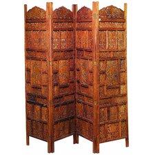 "72"" x 72"" Decorative 4 Panel Room Divider"