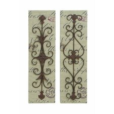 2 Piece Décor Canvas Wall Décor Set