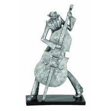 Bass Musician Décor Figurine