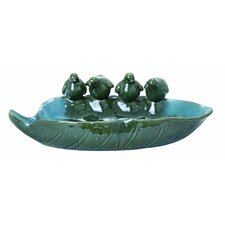 Attractive Ceramic Bird Basin