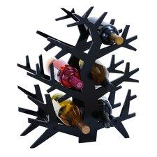 Tree Branch 6 Bottle Tabletop Wine Rack