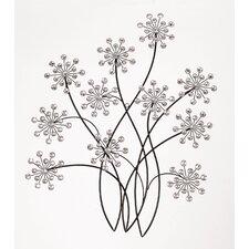 Metal Floral Wall Décor