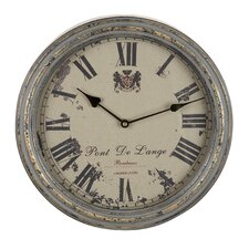 "14"" Metal Wall Clock"