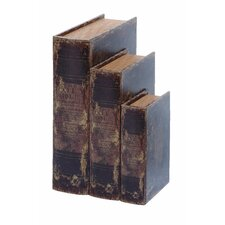 Ancient Holy Bible Book Box (Set of 3)