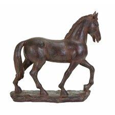 Trotting Horse Figurine