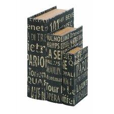 European Landmarks Book Box (Set of 3)