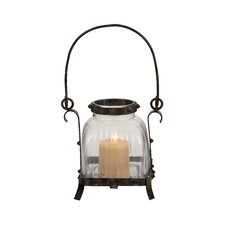 Metal Glass Lantern