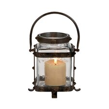 Unique Metal Glass Lantern