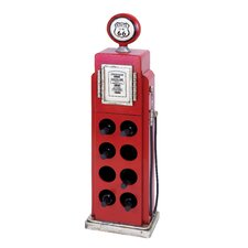 Gas Pump 8 Bottle Wine Rack