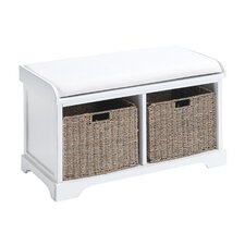 Wood Storage Bench II