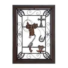 Accented with Cowboy Details Wall Décor